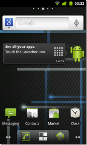 CyanogenMod 7 screenshot